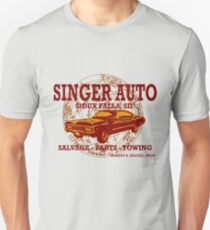 SINGER AUTO Slim Fit T-Shirt