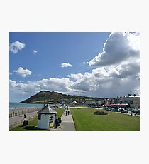 Bray Head and the Bandstand Photographic Print