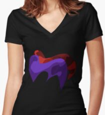 Nights & Reala Women's Fitted V-Neck T-Shirt