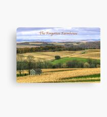 The Forgotten Farmhouse - Calendar Cover Canvas Print