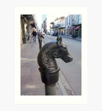 Rue Royale, French Quarter Art Print