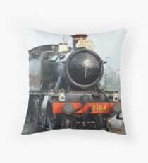 SANTA  STEAM SPECIAL ON THE SVR Throw Pillow