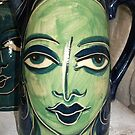 the green faced lady by catherine walker