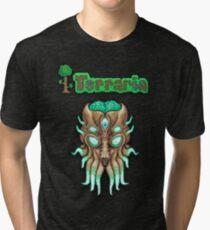 Terraria Moon Lord Head Tri-blend T-Shirt