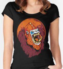 Beast Man  Women's Fitted Scoop T-Shirt
