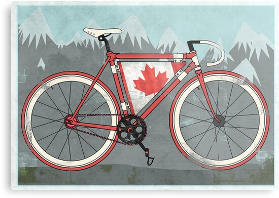 Love Bike, Love Canada by Andy Scullion