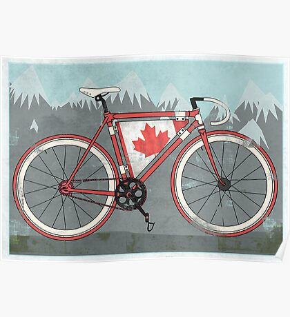 Love Bike, Love Canada Poster