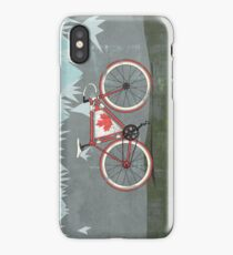 Love Bike, Love Canada iPhone Case