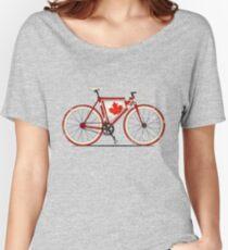 Love Bike, Love Canada Women's Relaxed Fit T-Shirt