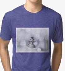 Bubbled Frosty Tri-blend T-Shirt