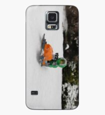 LEGO Mini Eskimo on Snowmobile Case/Skin for Samsung Galaxy