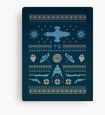 Shiny Sweater Canvas Print