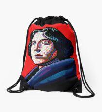 One must wear Oscar Wilde Drawstring Bag