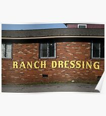 Ranch Dressing Poster