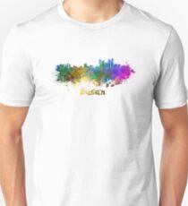 Busan skyline in watercolor T-Shirt