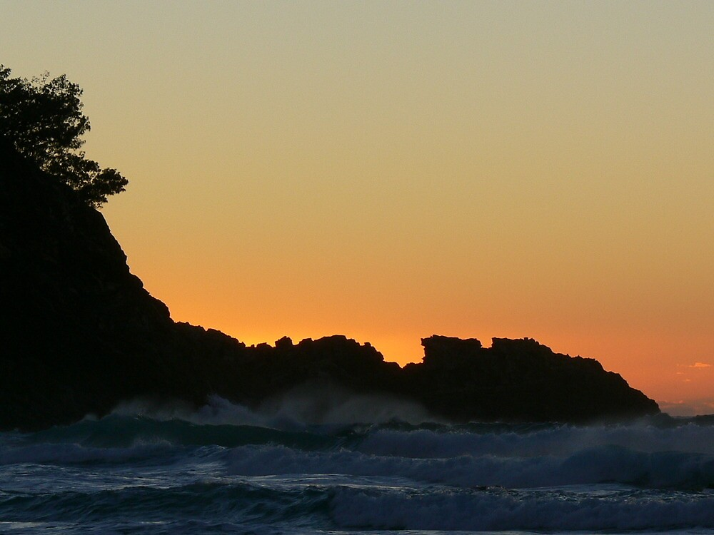 Sunrise at Straddie by PhotosByG
