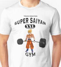 83fac7ec Super Saiyan Gym Slim Fit T-Shirt
