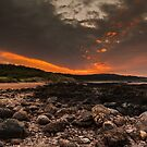 Fire in the sky by Tom Migot