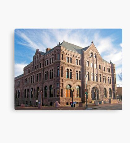 Hall of Justice Metal Print