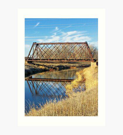 Rusty Reflection Art Print