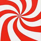 Peppermint Swirl - Iphone Case  by sullat04