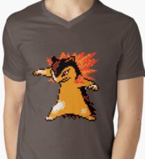 Typhlosion Sprite  Men's V-Neck T-Shirt