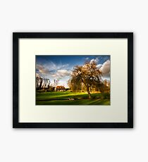Country scene, Kent England Framed Print