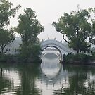 Guilin Bridges, China  by Braedene