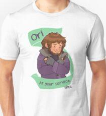 Cardigan Dwarf at Your Service T-Shirt