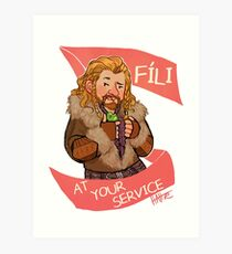 Fee at Your Service Art Print