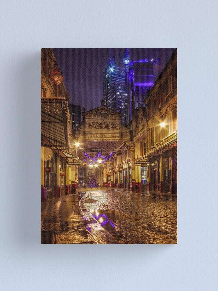 Alternate view of Christmas-City Canvas Print