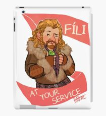 Fee at Your Service iPad Case/Skin