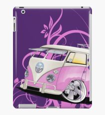 Splitty Floral Purple iPad Case/Skin