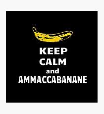 Ammaccabanane Photographic Print