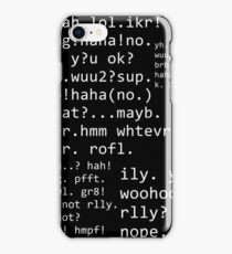 txt tlk iPhone Case/Skin