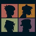 Gorillaz - Demon Days (Silhouette) by Kubbaj