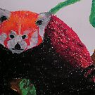 Red Panda in winter by George Hunter