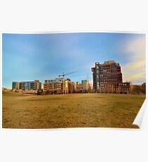 Apartments Near the Park Poster