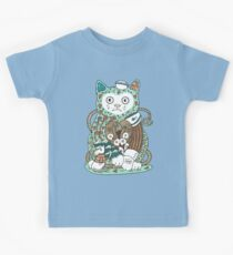 The Ships Cat Kids Tee