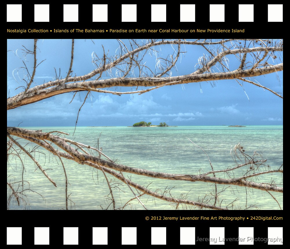 Nostalgia Collection • Islands of The Bahamas • Paradise on Earth near Coral Harbour by Jeremy Lavender Photography