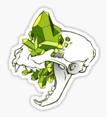 Crystal Skull - Cat Sticker