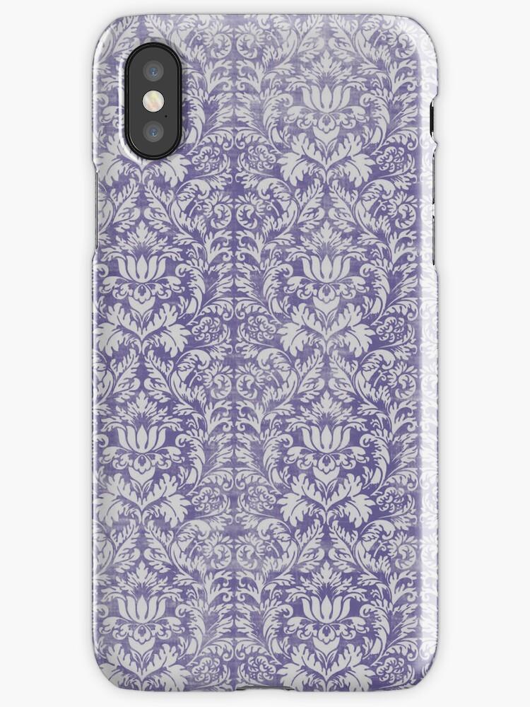 purple damask by ltdRUN