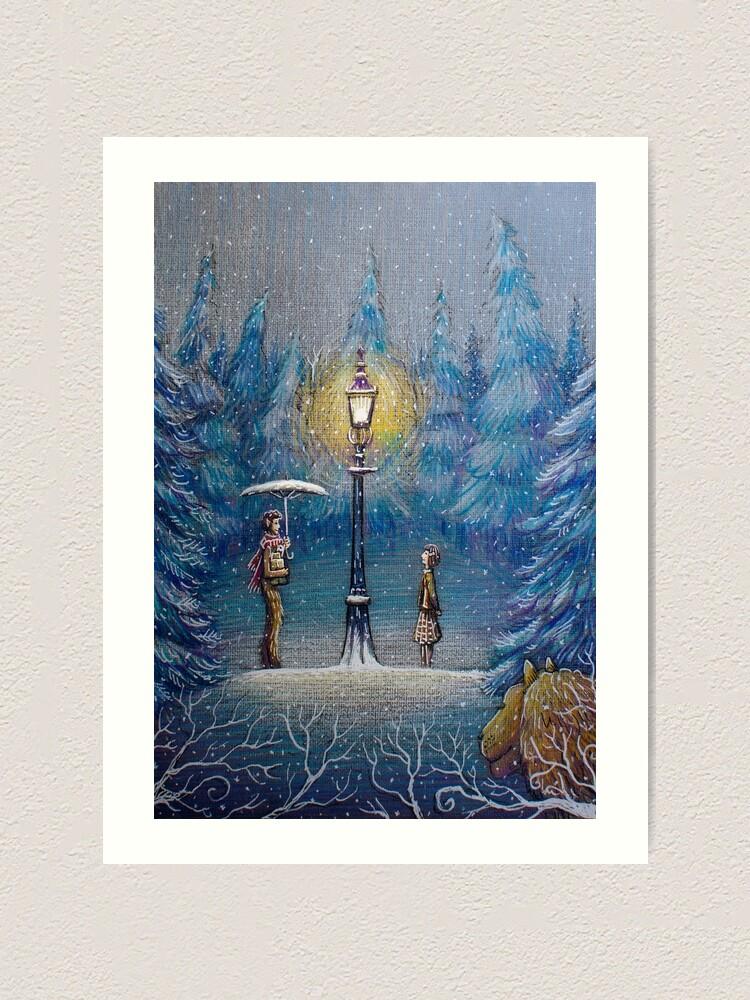 Alternate view of Narnia Magic Lantern Art Print