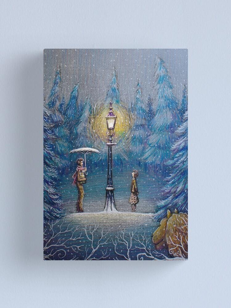 Alternate view of Narnia Magic Lantern Canvas Print