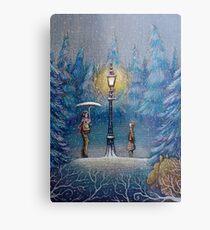 Narnia Magic Lantern Metal Print