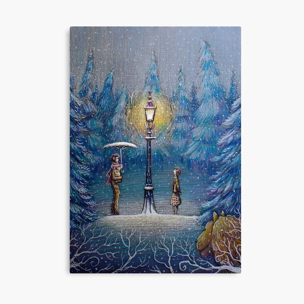 Narnia Magic Lantern Canvas Print