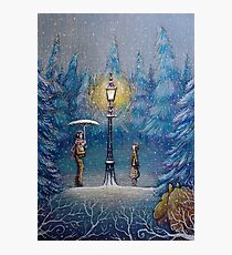 Narnia Magic Lantern Photographic Print