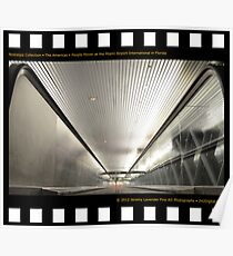 Nostalgia Collection • The Americas • People Mover at Miami International Airport in Florida Poster