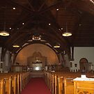 Inside of the church by Penny Rinker