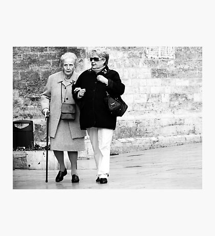 It's Ok Mum they're Only Tourists ! Photographic Print